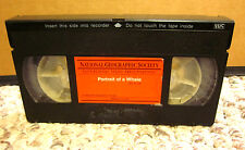 PORTRAIT OF A WHALE documentary National Geographic VHS elementary school 1978
