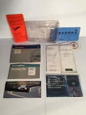 1987 Mercedes-Benz 420SEL 560SEL W126 Owner's Manual Handbook Guide Set W/ Case