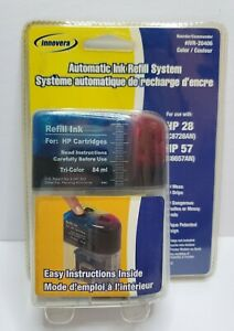 INNOVERA Automatic Tr-Color Ink Refill #IVR-20406 - HP 28/HP 57