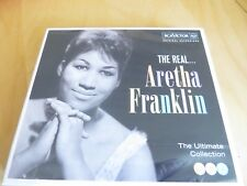 ARETHA FRANKLIN - The Real... - Triple CD Album - NEW/Sealed
