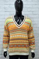 Maglione Uomo STEFANEL Taglia Size M Maglia Felpa Pullover Cardigan Sweater Man