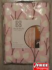 DWELL STUDIO Pink White Flowers OLIVIA Baby Girl Curtain Panel Target NIP