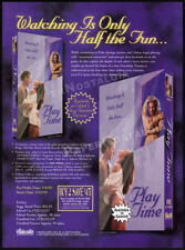 PLAY TIME__Original 1995 Trade print AD / promo__MONIQUE PARENT__JENNIFER BURTON