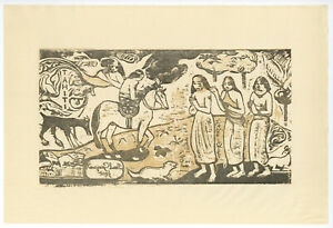 "Paul Gauguin "" Changement de Residence "" Edition de 250"