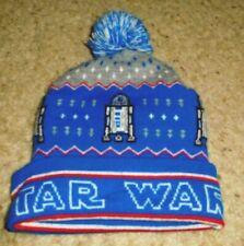 STAR WARS R2D2 POM BEANIE HAT WINTER CAP MEDIUM