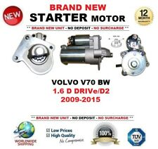 FOR VOLVO V70 BW 1.6 D DRIVe/D2 2009-2015 BRAND NEW STARTER MOTOR 1.2kW 11-Teeth