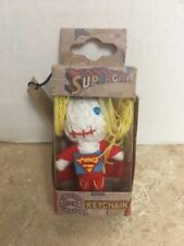 DC Comics Supergirl Keychain by C&D Visionary Inc. String Doll 2013 VooDoo Doll