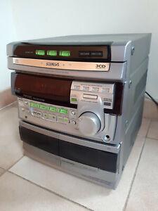 Stereo Hi-Fi Philips FW-530C - Radio Cassetta CD Aux
