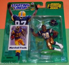 2000 MARSHALL FAULK 1st St Saint Louis Rams -FREE s/h- Starting Lineup Hobby NM+