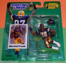2000 MARSHALL FAULK 1st St Saint Louis Rams - low s/h- Starting Lineup Hobby NM+