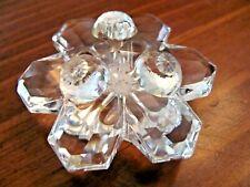 Swarovski Faceted Crystal Flower Decor Piece Brilliant Shine Daisy Base Exc