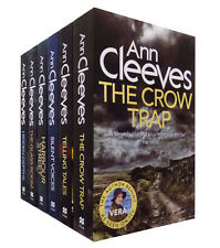 Ann Cleeves TV Vera Series Collection 6 Books Set, The Glass Room...