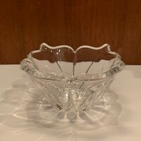 Marquis By Waterford Crystal Candy / Trinket Dish Flower Design