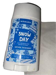 Schmidt's Deodorant Holiday - Snow Day 2.65 Oz. Natural deodorant