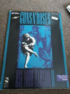 Guns N Roses Use Your Illusion Il Rock Guitar TAB Music Book.