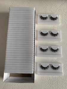 Job lot wholesale 35 x pairs magnetic lashes only - no glue or magnetic eyeliner