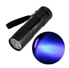 FLASHLIGHT LAMPADA ULTRAVIOLET PORTATILE LIGHT LED FLUORESCENT  LUZ ULTRAVIOLETA