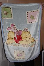 Disney Winnie the Pooh Luxury Plush Fleece Blanet Piglet and Pooh