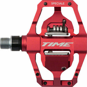 Time Speciale 12 Atac Mountain Bike MTB Enduro Pedals with cleats Red