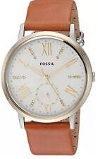 Fossil Original ES4161 Women's Gazer Multifunction Luggage Leather Watch 40mm