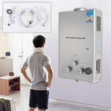 12L Termos y Calentador de Agua Caldera Gas Natural Tanque de Agua Caliente DHL
