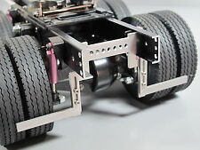 Pair Aluminum Fender Frame Mount for Tamiya 1/14 Semi King Knight Hauler Truck