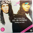 All Or Nothing The U.S. Remix Album by Milli Vanilli, Hansa 1989 LP Vinyl Record