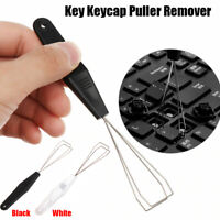 NEW Mechanical Keyboard Key Keycap Puller Cap Remover Steel Tool For Cleaning