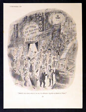 FOX HUNTING 1954 French Cabaret - Walter Goetz PUNCH CARTOON