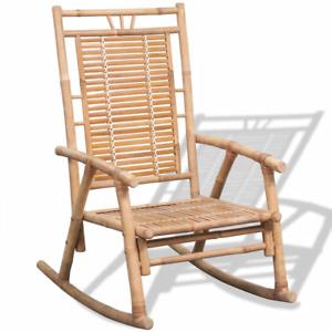 Rocking Chair Bamboo