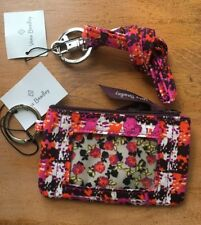 Authentic Vera Bradley * Zip ID Case and Lanyard Set * Houndstooth Tweed * NEW