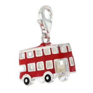 Thomas Sabo Double Decker Bus Charm Sterling - 925 London Paris Travel Souvenir