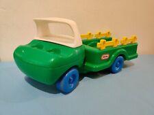 VINTAGE Little Tikes Toddle Tots GREEN FARM TRUCK