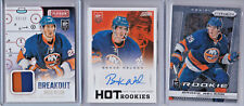 2013-14 BROCK NELSON RC LOT SCORE AUTO, PRIZM & BREAKOUT GU! NEW YORK ISLANDERS