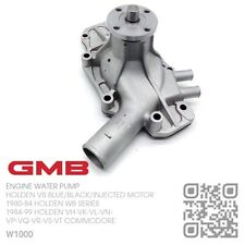 GMB WATER PUMP V8 5.0L 308 BLUE/BLACK ENGINE [HOLDEN/HDT VH-VK-VL COMMODORE]