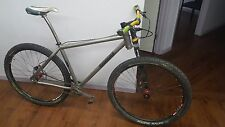 Independent Fabrication Titanium Deluxe Single Speed 29er