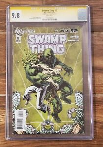 SWAMP THING #2 (2011) CGC 9.8, Signed by Scott Snyder! D.C. Comics