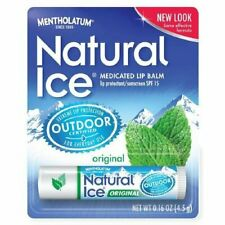 Mentholatum Natural Ice Lip Balm Original SPF 15