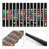 Beginner Acoustic Electric Guitar Fretboard Note Decals Fingerboard Map Sticker