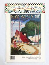 Vintage Daisy Kingdom Mary Engelbreit Iron On Transfer HOME SWEET HOME 6550