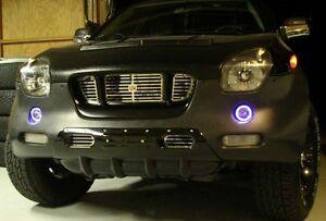 White Angel Eye Fog Lamps Driving Lights Kit for 1999 2000 2001 Isuzu VehiCROSS