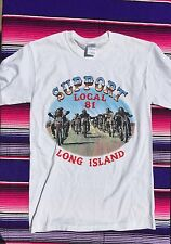 Support Your Local 81 T Shirt Hells Angeles Long Island New York
