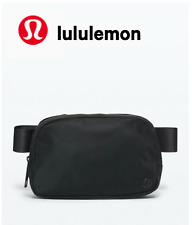 Lululemon Everywhere Belt Bag 1L Black Fanny Pack Purse Classic Nylon SOLD OUT