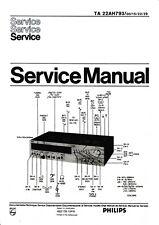 Service Manual-Anleitung für Philips 22 AH 793