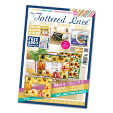 Tattered Lace Magazine Issue 70 with Autumn Frame Die