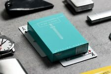 Rare (1/2500) Teal King Slayer playing cards Ellusionist Fontaine virtuoso bloc
