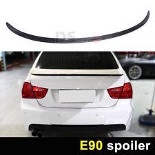 Carbon Fiber look  BMW E90 Rear Lip Spoiler Saloon 12-2017 M3 Style Wing