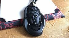 100% natural sculpture Avalokitesvara pendant free testing certificate necklace
