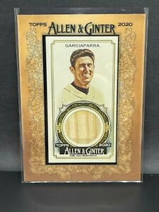 2020 Topps Allen & Ginter Framed Mini Relic Bat Nomar Garciaparra Boston Red Sox
