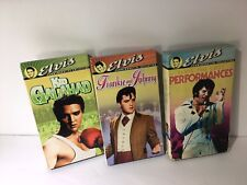 3 Elvis Presley VHS Video Tapes Commemorative Collection: FRANKIE & JOHNNY LOST